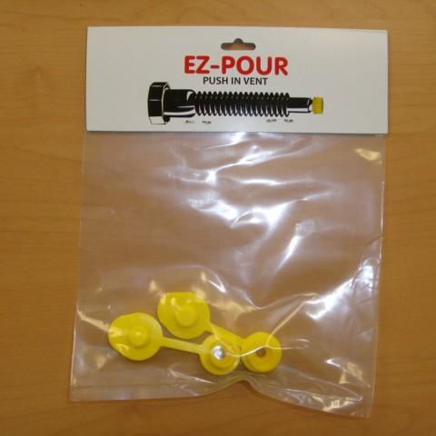 EZ-Pour Push-in Vent Cap - 2 Pack - EZ-V1