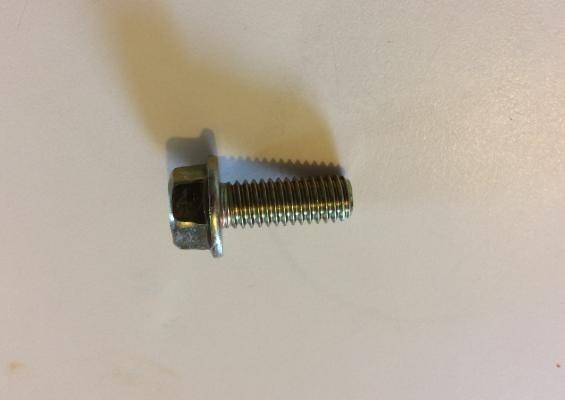 Bolt, cap screw, flanged head, hardened - F-2141