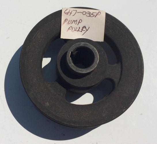 Pulley, Hydrostat Pump 647-035P
