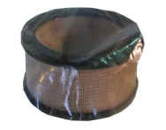 Paper round air filter