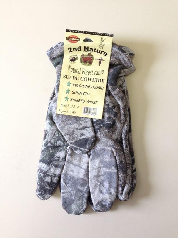 Cordoval Camo Cowhide Gloves